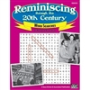 Reminiscing Through the 20th Century Activity Books - Word Searches