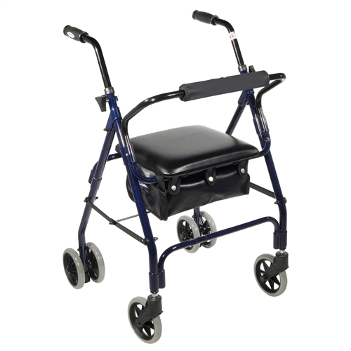 Lightweight Rolling Walker with Seat - Rollator