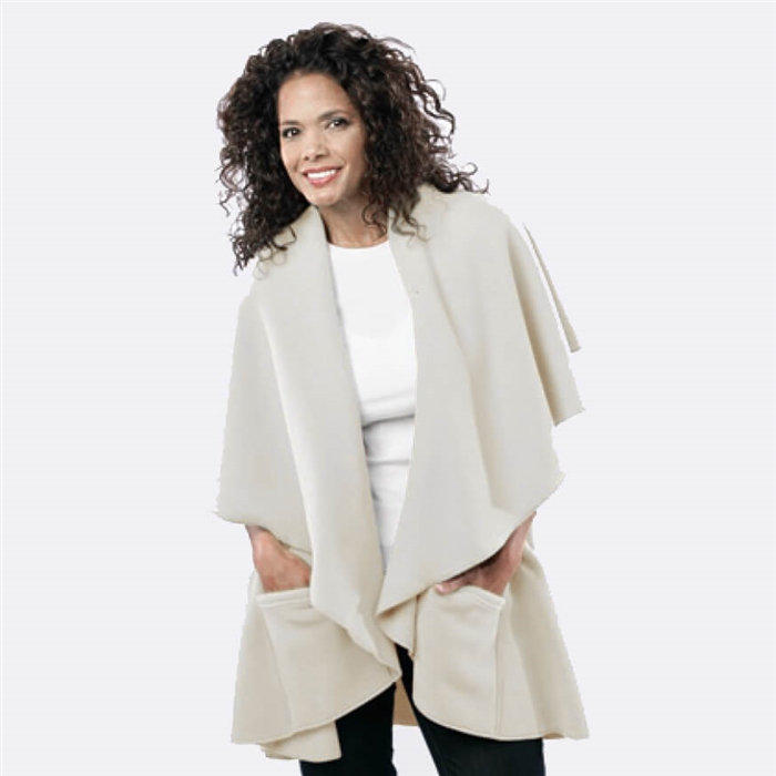 Wrap With Pockets   Janska Cape For Seniors   Alzstore