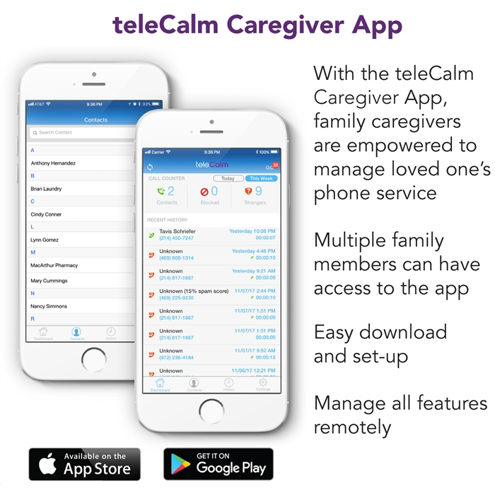 teleCalm   Block & Control Phone Calls