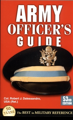 Army Officer's Guide (Stackpole Books) - Mentor Military