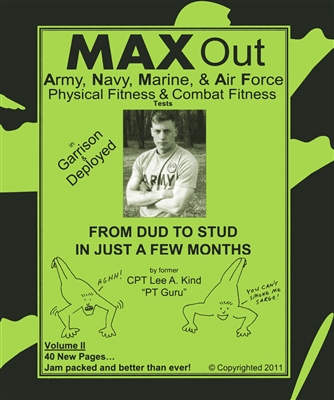 Max Out the Army, Navy, Air Force, and  Marine Physical Fitness Test (by Lee Kind)