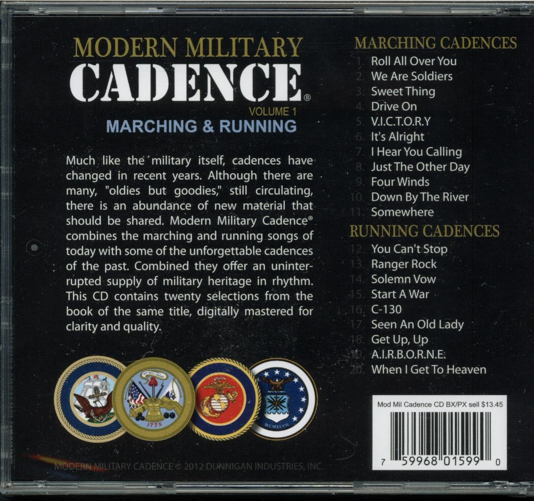 Army Running Cadences Top 5 Military Cadence