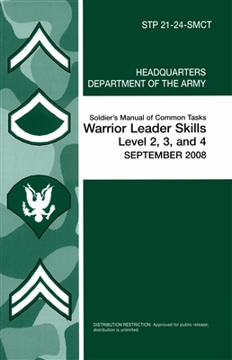 Soldier's Manual of Common Tasks - Skill Level 2, 3, and 4