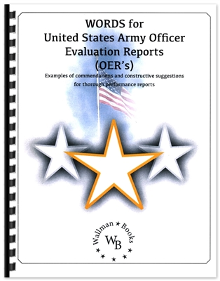 Words for United States Army Officer Evaluation Reports (OERs)
