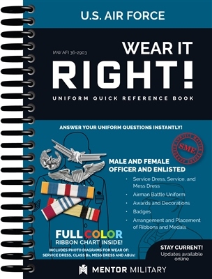 Wear It Right! - Air Force Uniform Book (IAW AFI 36-2903)