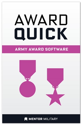 Award Quick: US Army Award Preparation Software