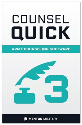 Counsel Quick: Volume 3 - Software for Army Developmental Counseling