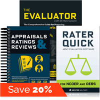 Army Evaluations Essential Bundle - Mentor Military