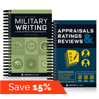Military Writing Bundle - Mentor Military