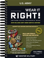 Wear It Right! - US Army Uniform Quick Reference Book