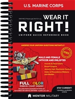 Wear It Right! - U.S. Marine Corps Uniform Quick Reference Book