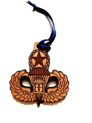 82nd Airborne Jump Wings Medallion