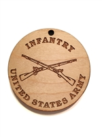 Army Infantry Medallion