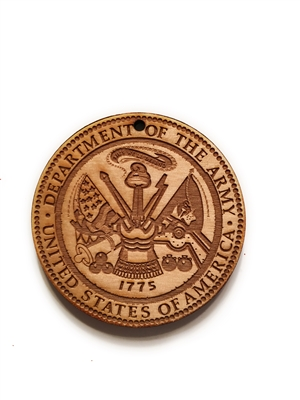 Army Seal Medallion
