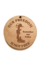 Our Freedom Is Not Free Medallion