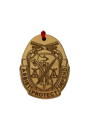 Police Militarly Unit  Medallion