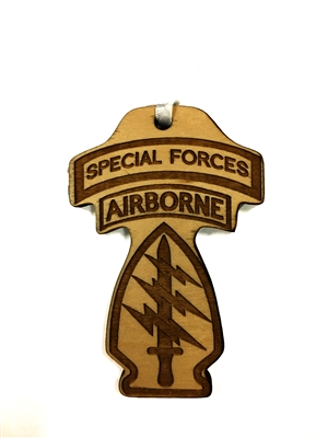 Special Forces Ranger Abourned Medallion