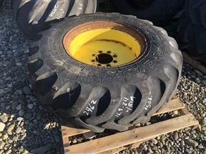 Used 16.9 x 24 Tire and Rim