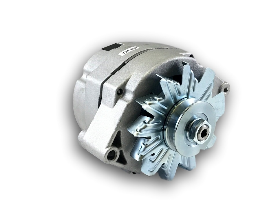 Universal Delco 10si Style 100 Amp One Wire Alternator