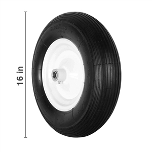 "16"" Foam Filled Tire and Wheel Assembly"