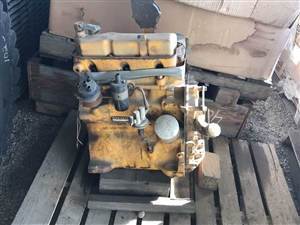 John Deere 135cid Gas Engine