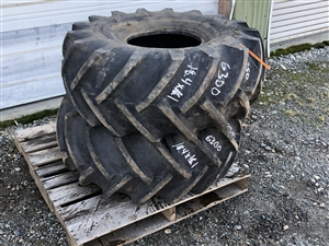 Used 18.4 x 16.1 American Farmer Tire