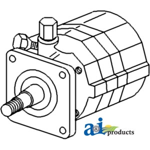 Allis-Chalmers Power Steering Pump