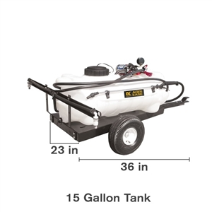 15 Gal Pull Sprayer