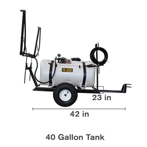 40 Gal Pull Sprayer