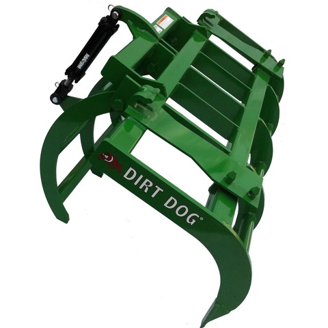 "72"" Dirt Dog Ag Grapple with JD Quick Mount"