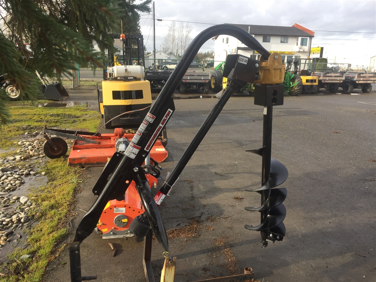 3-Point Post Hole Auger