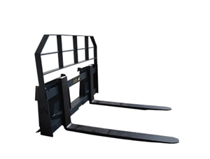 2200 lbs Pallet Forks Skid Steer Attachment