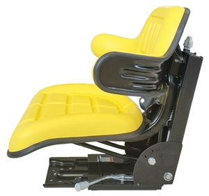 Universal Tractor Seat with Suspension Yellow