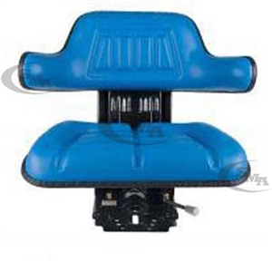 Universal Tractor Seat with Suspension Blue