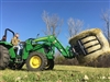 Premier RBG001 round bale grapple with skid steer mount