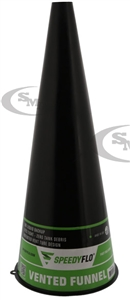 "10"" Speedy Flo Vented Funnel"