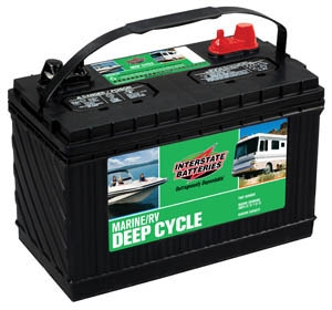Interstate Deep Cycle Marine Battery >> Interstate SRM-29