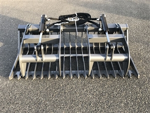 "60"" Skid Steer Grapple Bucket"