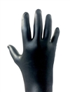 DIAMOND BLK NITRILE GLOVE MED