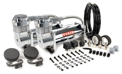 Viair Chrome 450 Dual Combo Pack