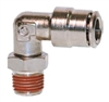 "1/4"" Hose 1/8"" NPT 90* Fitting Nickel Plated"