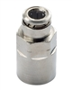 "1/4"" Hose 1/4"" Female NPT Fitting Nickel Plated"