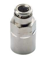 "3/8"" Hose 3/8"" Female NPT Fitting Nickel Plated"