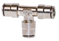 "3/8"" Hose Tee Nickel Plated"