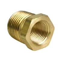 "1/2"" Male to 3/8"" Female NPT Reducer"