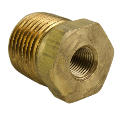 "1/2"" Male to 1/8"" Female NPT Reducer"