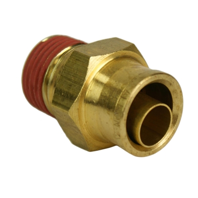 "1/2"" Hose 3/8"" NPT Straight Push-to-Connect"