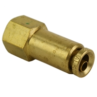 "1/4"" Hose 1/8"" NPT Female Straight Push-to-Connect"