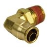 "1/4"" Hose 1/4"" NPT 90 Deg Push-to-Connect"